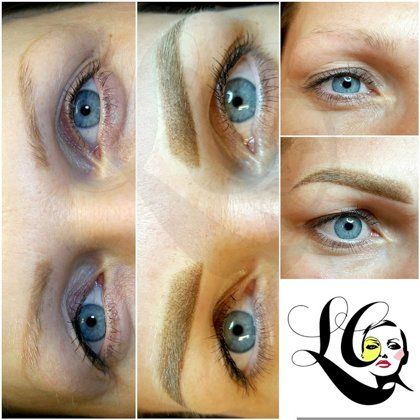 Permanent make up uzacu izlabošana