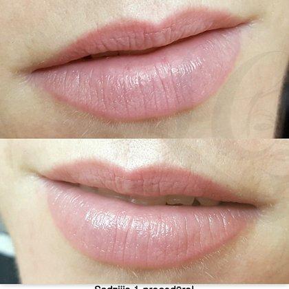 Микропигментация губ, после заживления