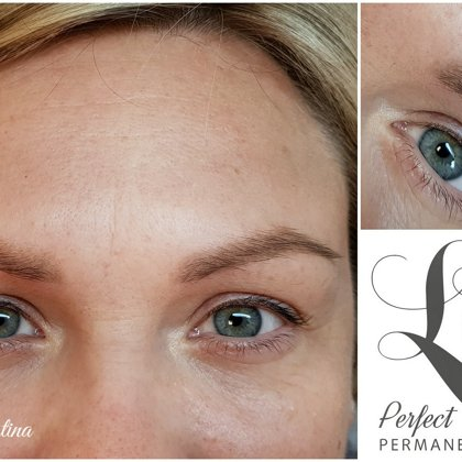 Eyebrows permanent# 1,5 Years after treatment