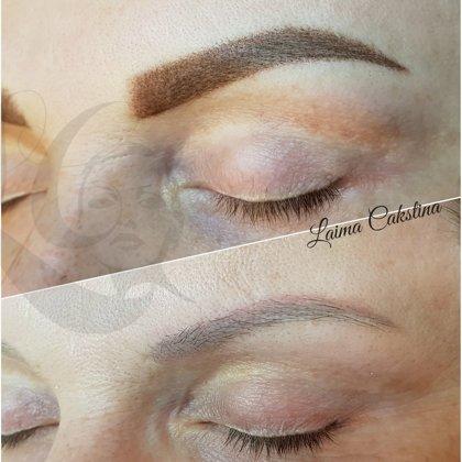 Eyebrows correction#uzacupermanents#