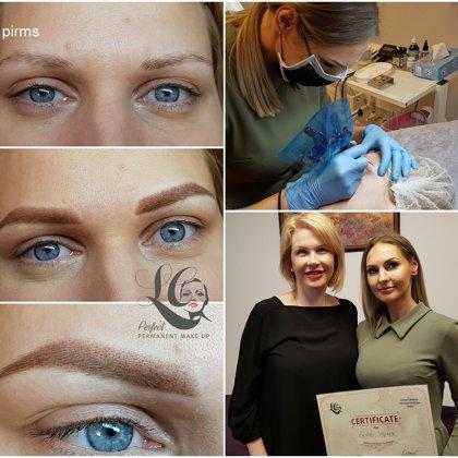 Permanent make - up, individual Master class eyebrows