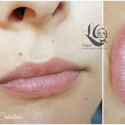 Tempera Lips nude healed! Lips micropigmentation