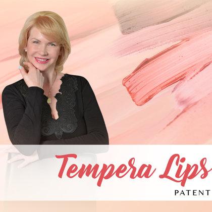 Patentēta autortehnika Tempera Lips