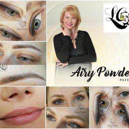 Patentēta autortehnika Airy Powder (sadzijušu darbu piemēri)