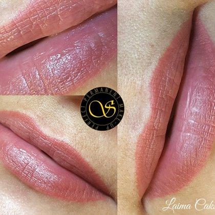 #lūpupermanents#healed#Tempera Lips